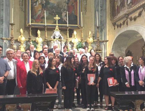 I Cantori di Camandona in concerto sostengono la Fondazione Maria Bonino