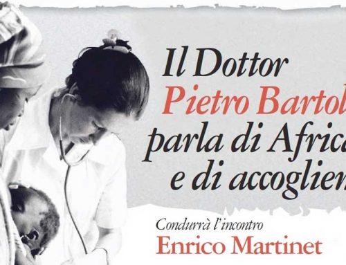 Pietro Bartolo, il medico di Lampedusa, accolto con calore ad Aosta