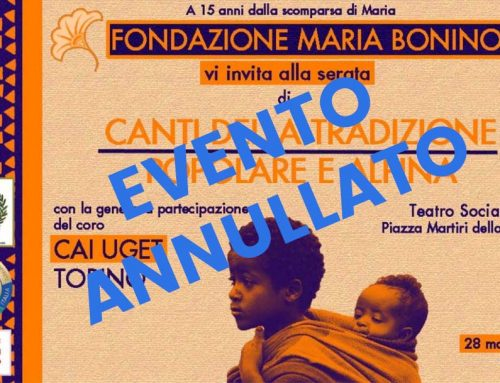 Video del Coro CAI UGET per la Fondazione Maria Bonino