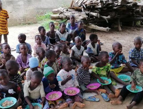 Più del 30% dei bambini curati all'Ospedale di Sokponta è malnutrito