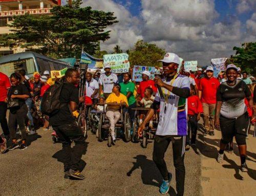 A Dar es Salaam la marcia di sensibilizzazione sulla disabilità