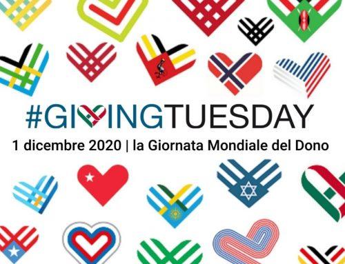 1 Dicembre 2020 #GivingTuesday la giornata mondiale del dono